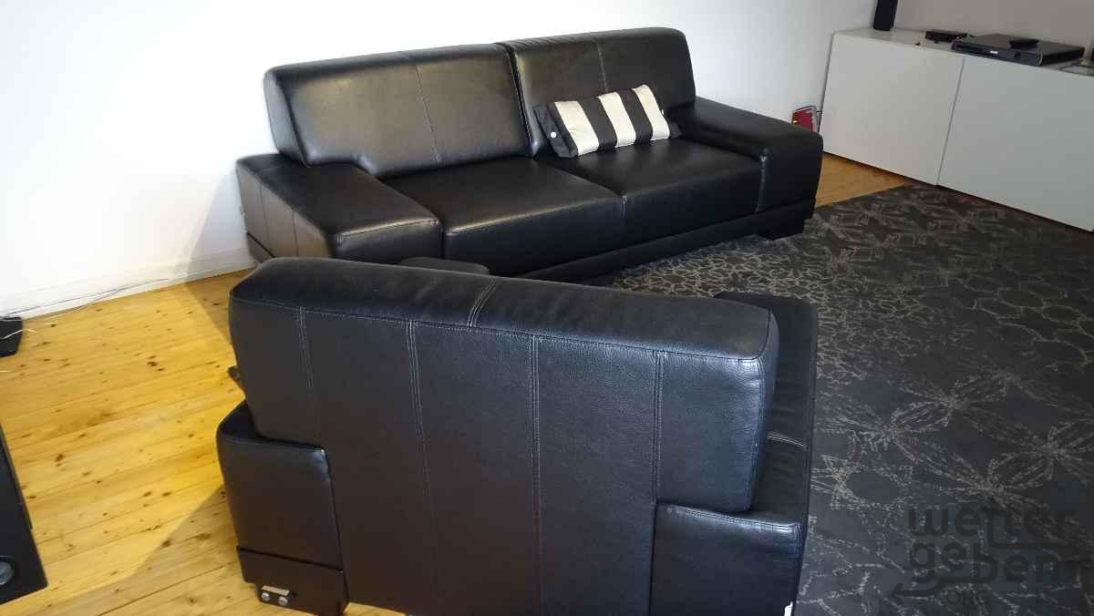3-er-Sofa plus 1-er-Sessel in Münster