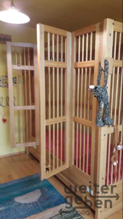 Weglauftendenz Pflegebett  in Laugna