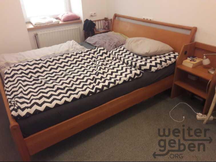 Bett in Wien