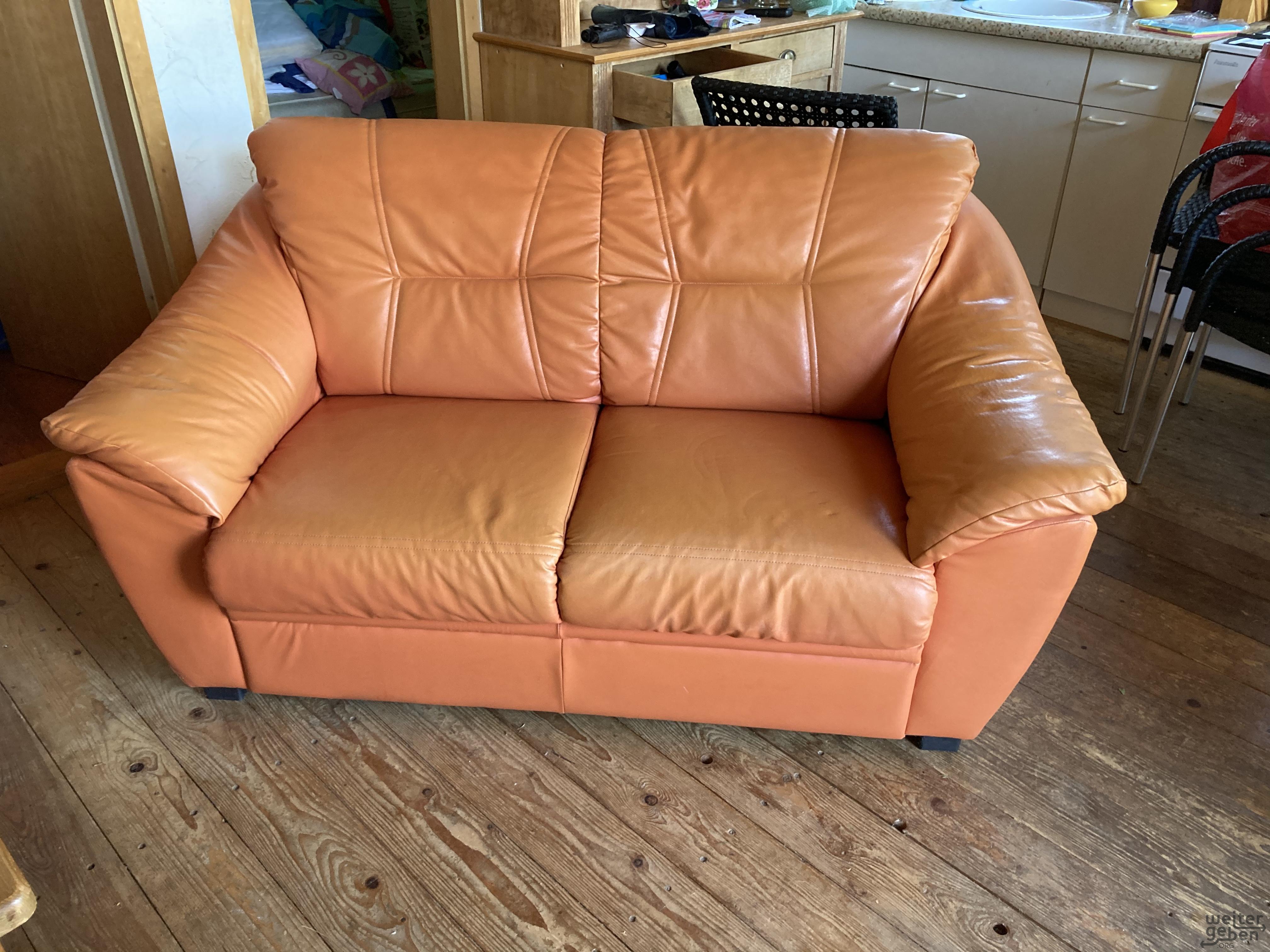 Leder-Couch Set  in Usingen