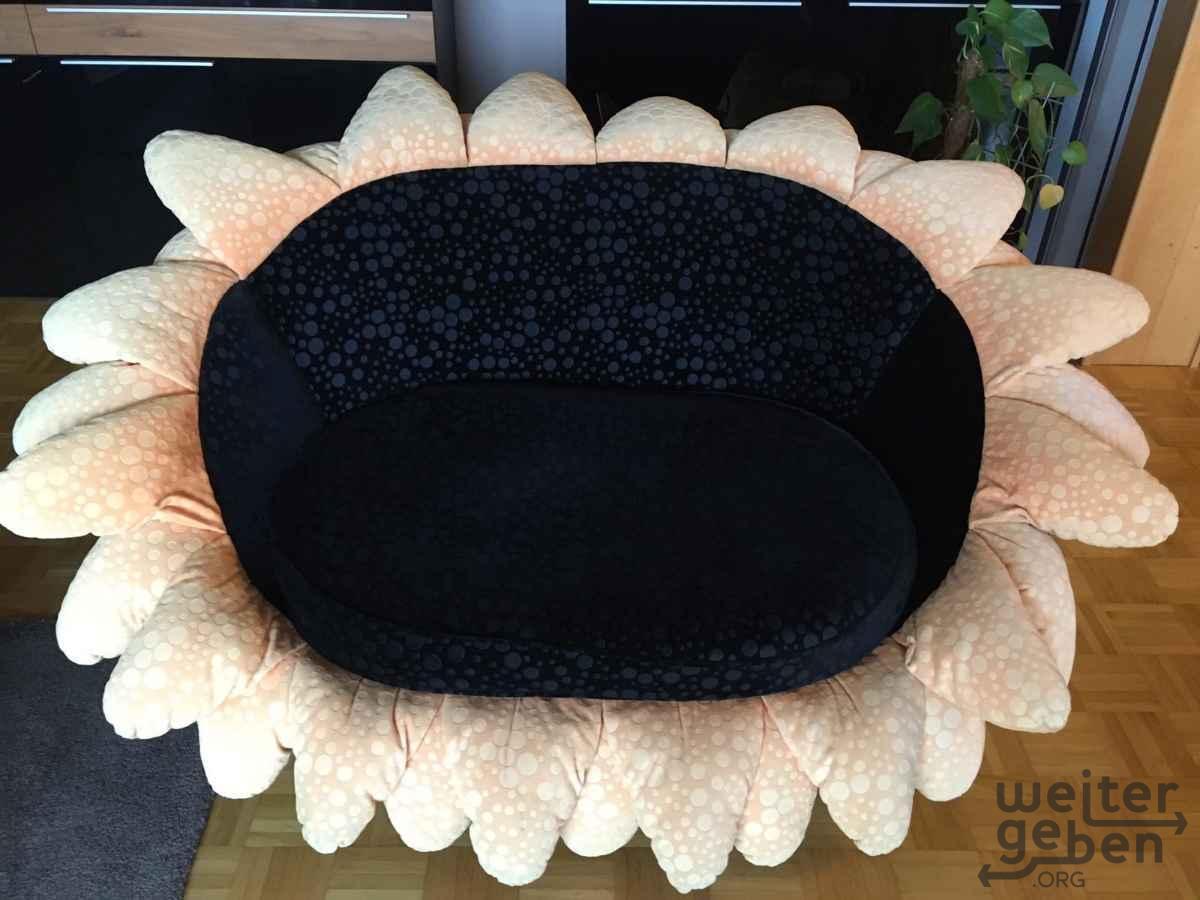 Bretz Sonnenblumen-Couch in Essen