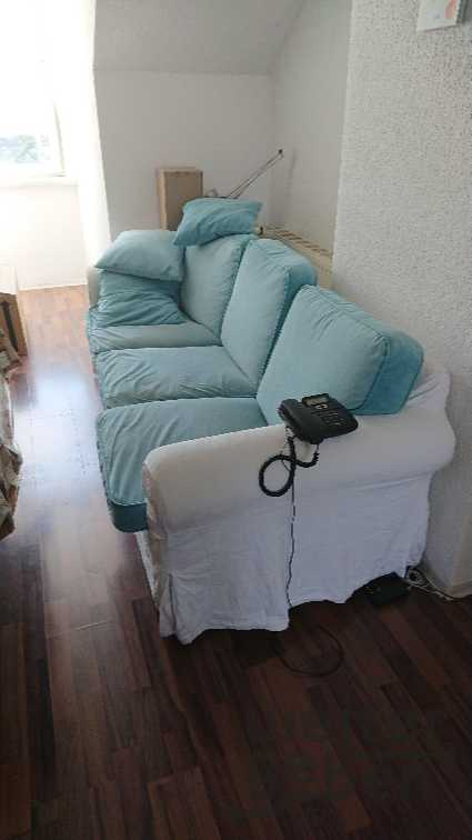 Dreier-Sofa in Rüdnitz