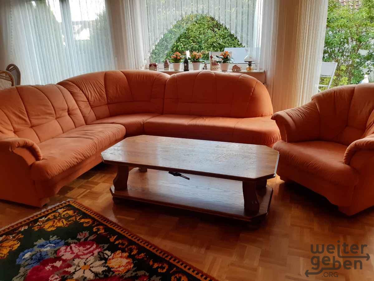 Eckcouch und Sessel in Kassel