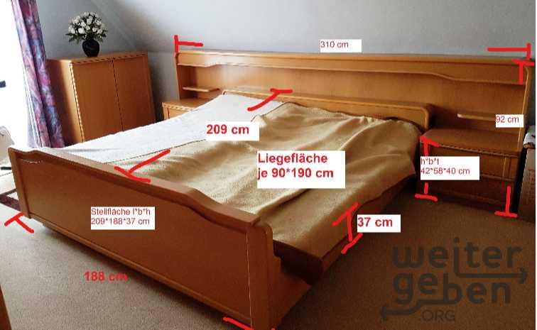 Doppelbett in Apensen