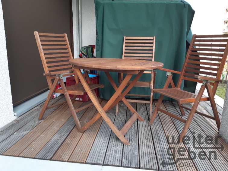 klappbare Gartenstühle aus Holz in Hamburg