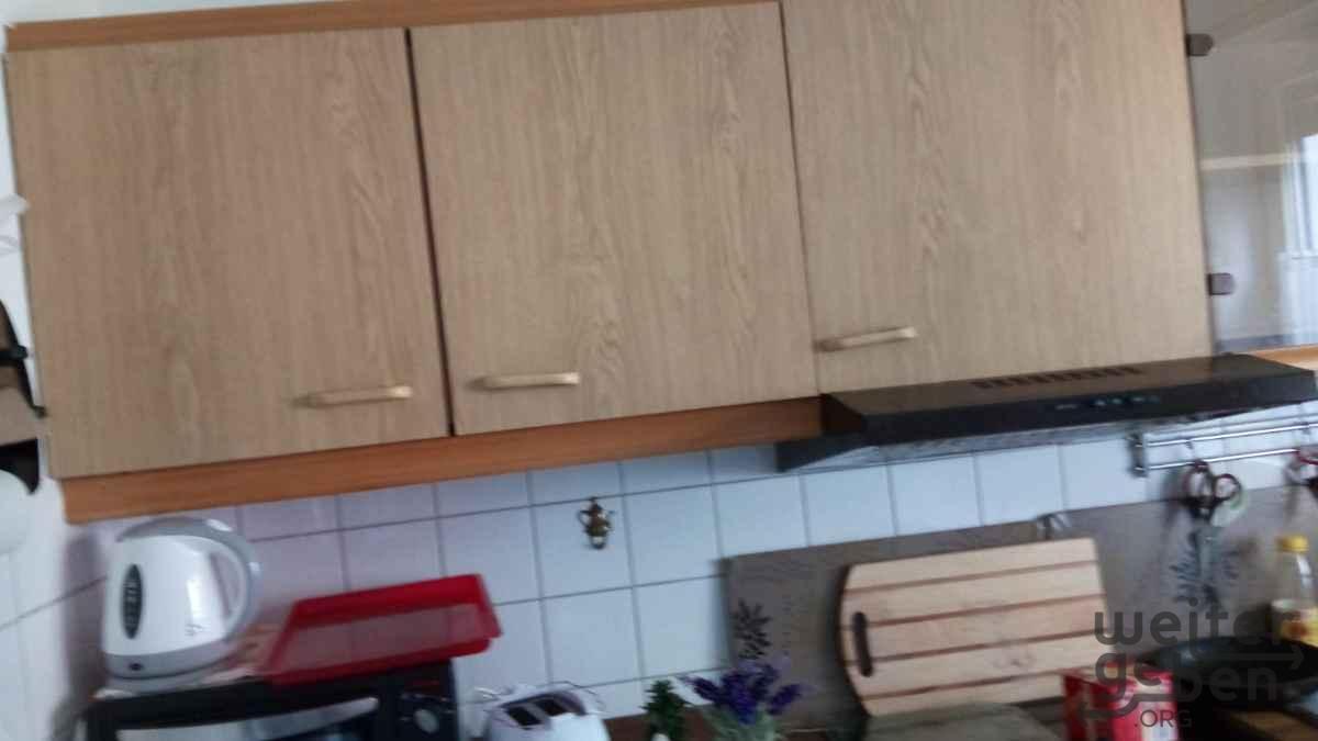 schmale Küche in Berlin