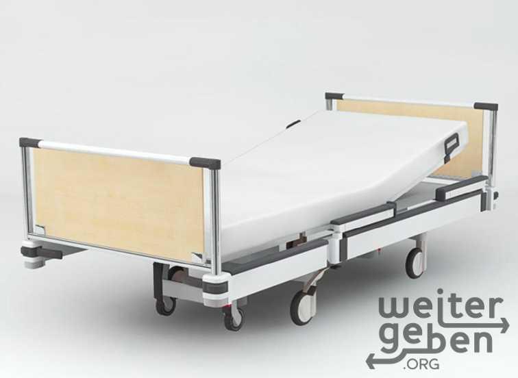 Krankenbett in Berlin