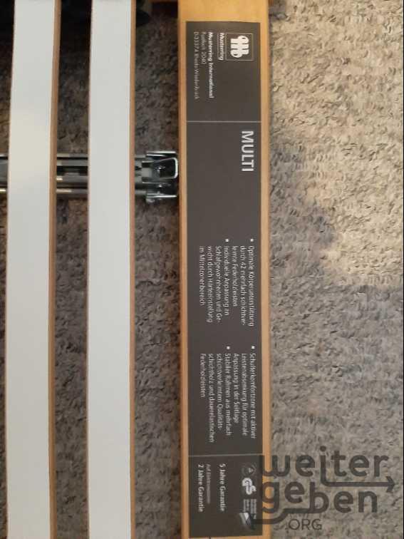 Lattenrost, 90x200 in Bernau