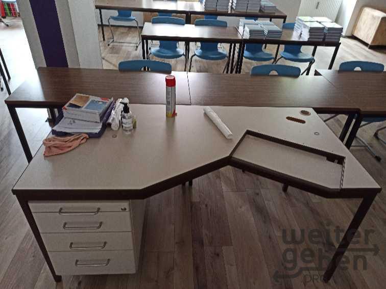 Lehrertisch in Gotha