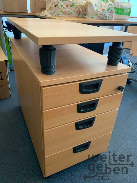 Schreibtisch-Container in Hamburg