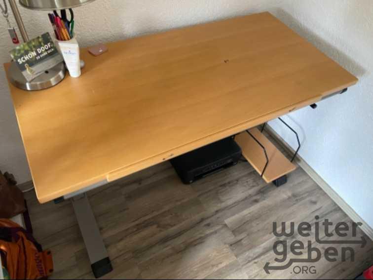 höhenverstellbarer Schreibtisch  in Oberkotzau