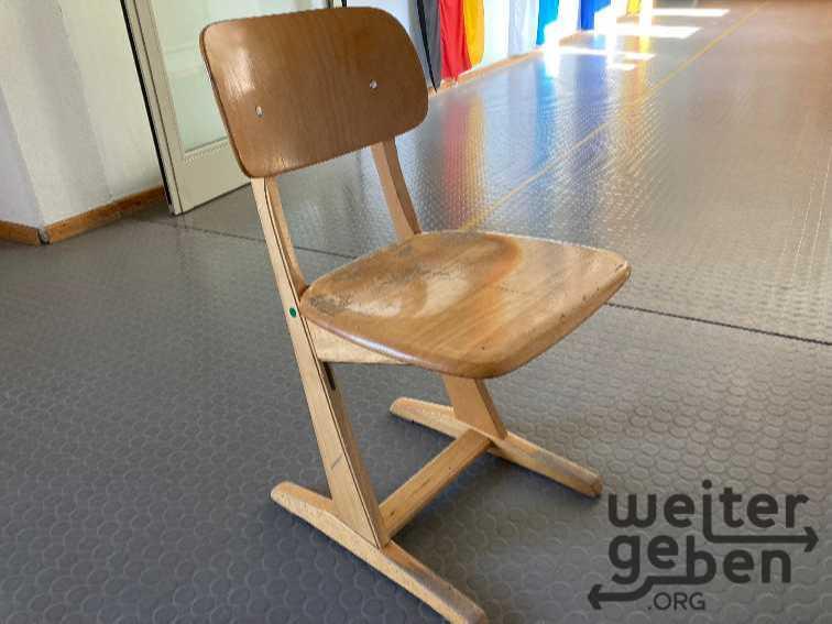 Schulstühle in Fischbachau