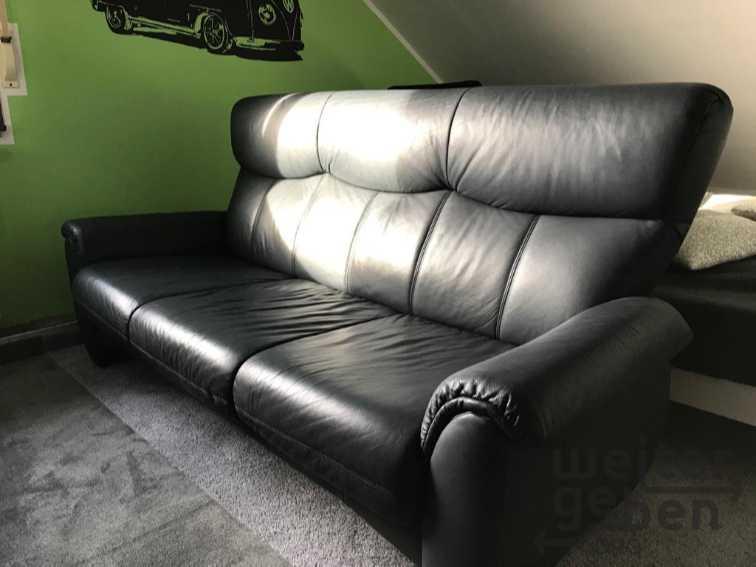Sofa 3-Sitzer Leder in Marienheide