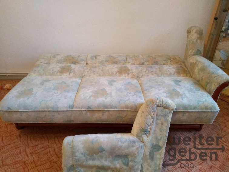 Sofa mit Sessel in Berlin