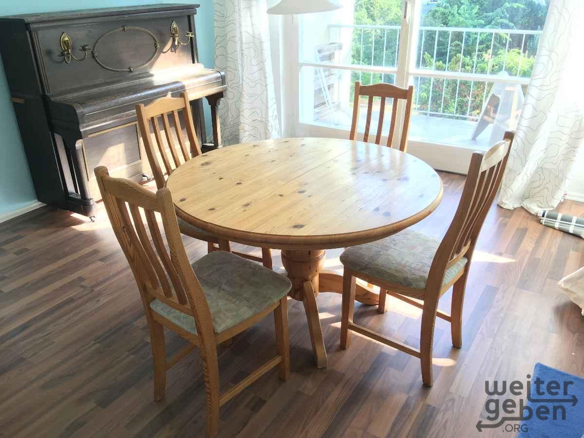 Holztisch Weitergebenorg