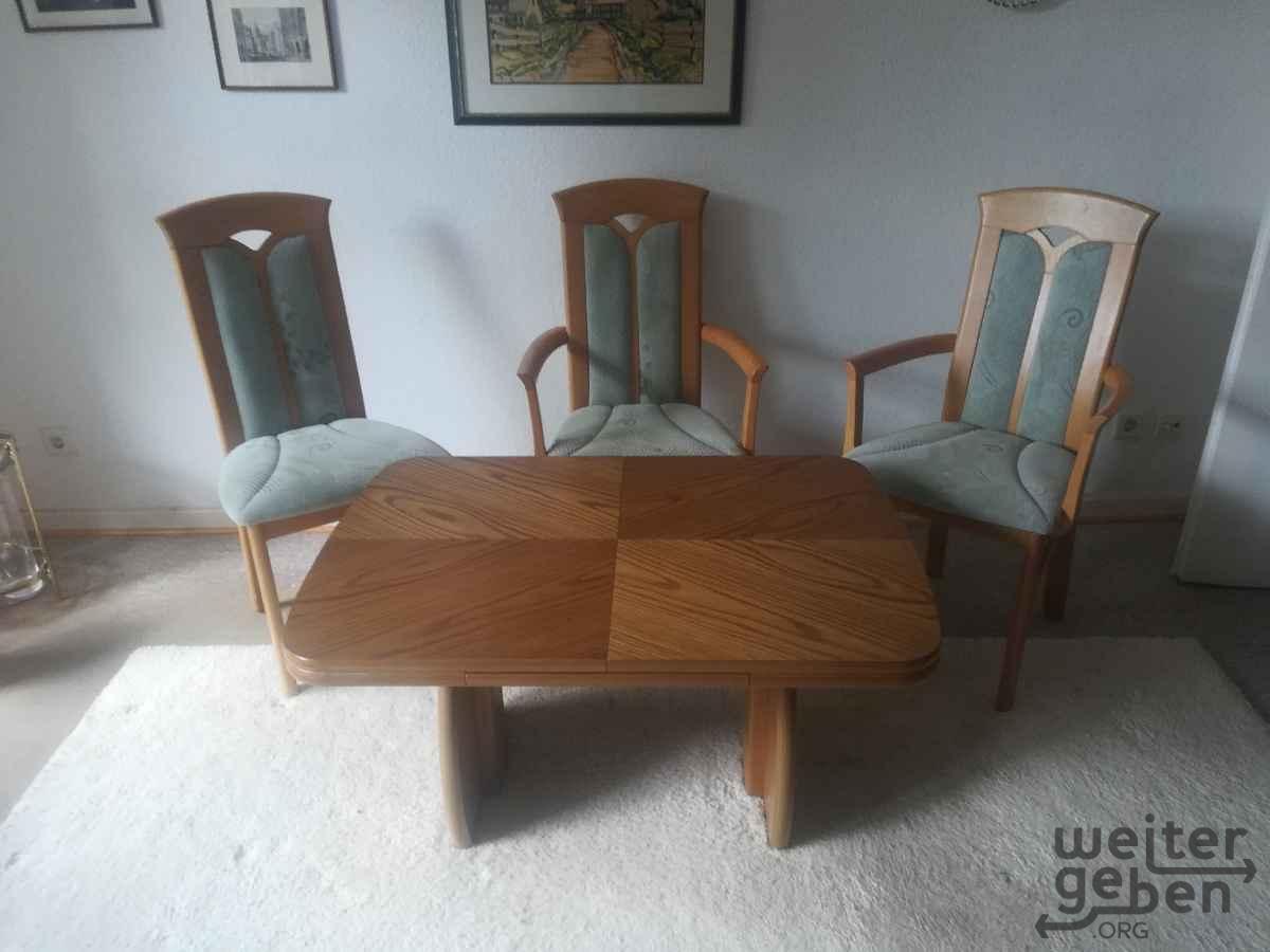 Tisch in Muenster