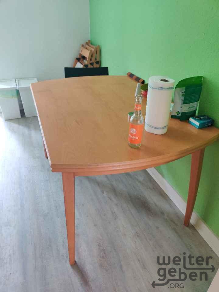 ausziehbarer Holztisch in Hamburg