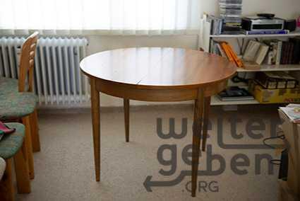 Tisch rund ausziebar in berlin
