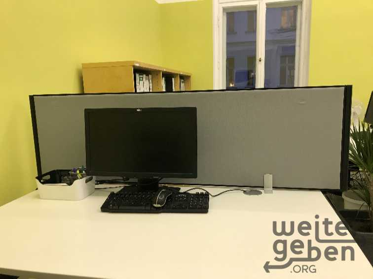 Trennwand Büro in Berlin