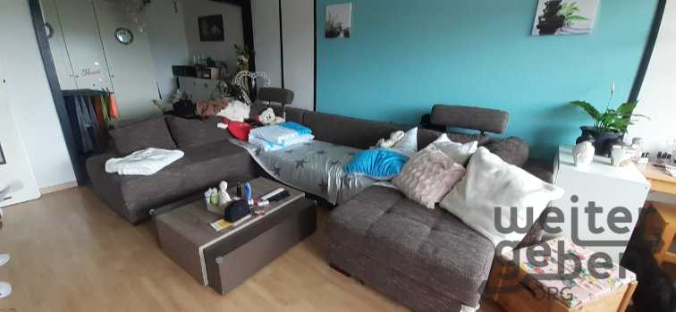 U-Sofa mit Ausziehfunktion inkl. Bettkasten in Altenau