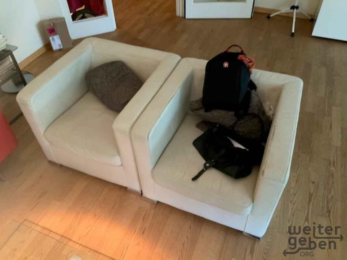 weiße Sessel in Berlin